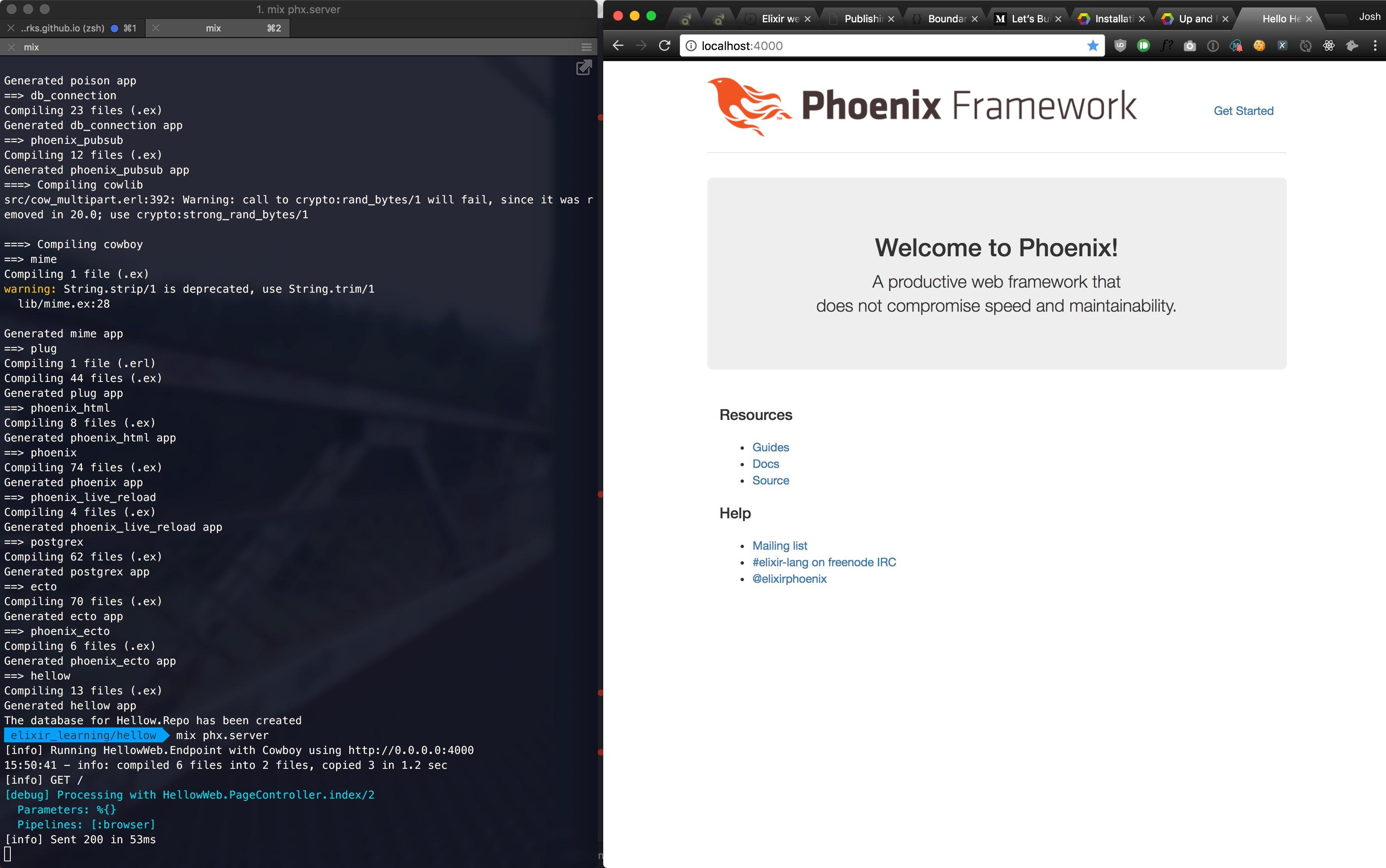 First pass with Elixir/Phoenix · Josh Thompson