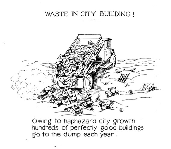Waste in City Building!
